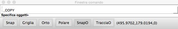 DraftSight Finestra Comando