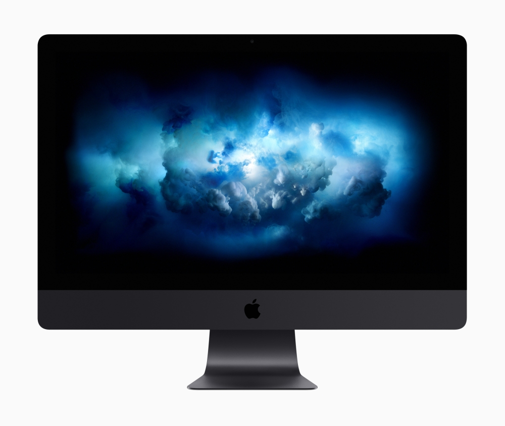 new_2017 iMac Pro dark grey front